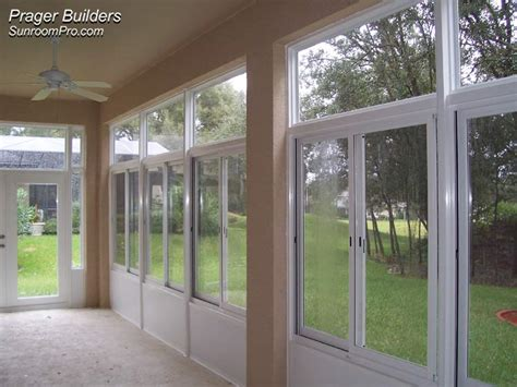 sorrento sunroom addition acrylic windows prager builders