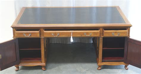 partners desk for sale antique large mahogany partners desk 1019 for sale