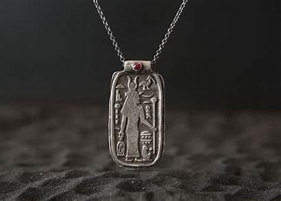 Isis Magic Amulet Egyptian Jewelry Goddess Telos