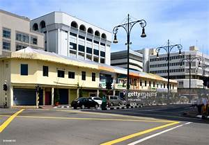 Colonia Buildings Pemancha Street Bandar Seri Begawan Brunei Darussalam Stock Photo