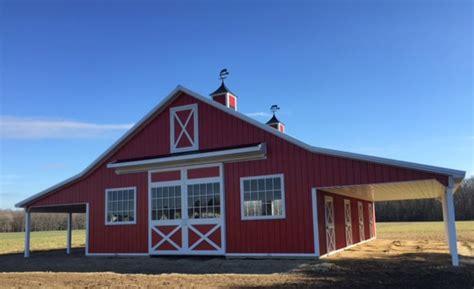 Amish Pole Barns by Pole Buildings Garage Barns Agricuture Manure