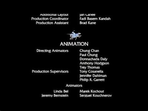 shrek 2 end credits edited youtube
