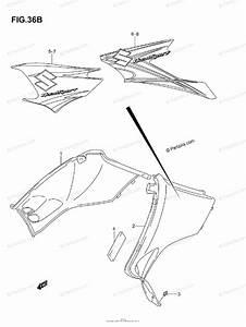 Suzuki Atv 2007 Oem Parts Diagram For Side Cover  Model K7