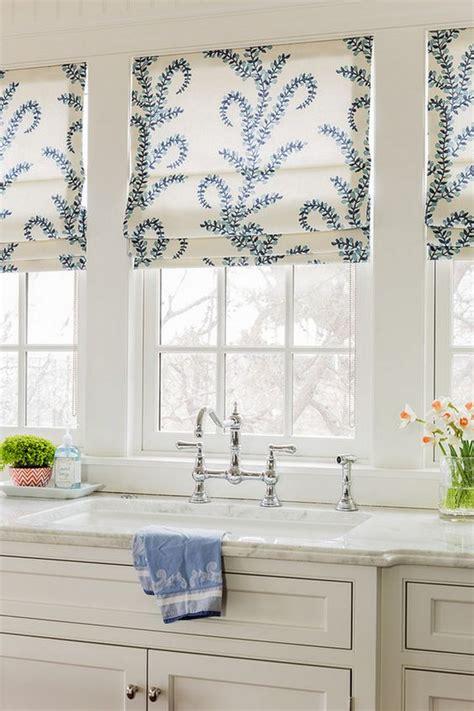 kitchen shades ideas 3 kitchen window treatment types and 23 ideas shelterness