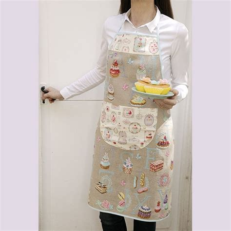 couture tablier de cuisine tablier pâtissier à broder au point de croix