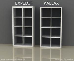 Kallax Ikea Regal : das ikea kultregal ver ndert sich news blog new swedish design ~ Markanthonyermac.com Haus und Dekorationen
