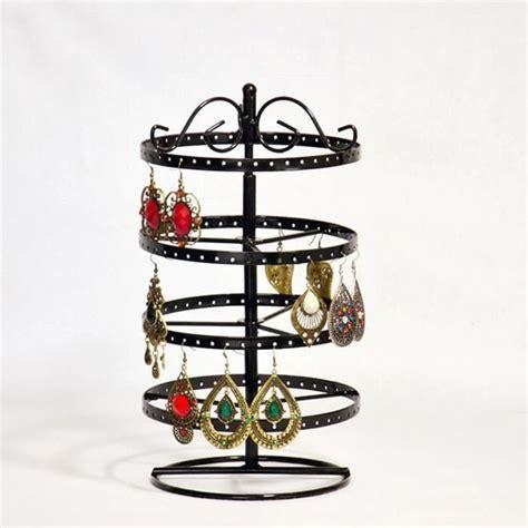 presentoir boucle d oreille porte bijoux pr 233 sentoir de boucles d oreilles colliers bracelets noir rond s018b achat