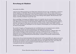 Bewerbung Kaufmann Im Einzelhandel : bewerbung als filialleiter bewerbungsforum ~ Orissabook.com Haus und Dekorationen