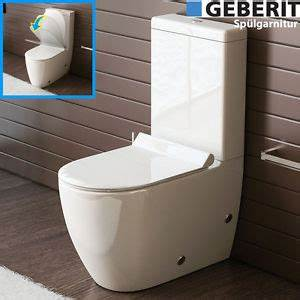 Stand Wc Set : bad1a design stand wc mit geberit sp lgarnitur keramik toilette sp lkastenwc set ebay ~ Eleganceandgraceweddings.com Haus und Dekorationen