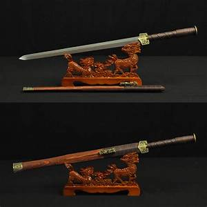 HIGH QUALITY HAND MADE CHINESE SWORD HAN JIAN (漢劍) FOLDED ...