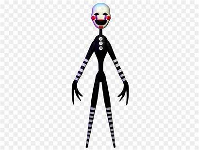 Marionette Puppet Fnaf Clipart Herogollum Freddy Nights