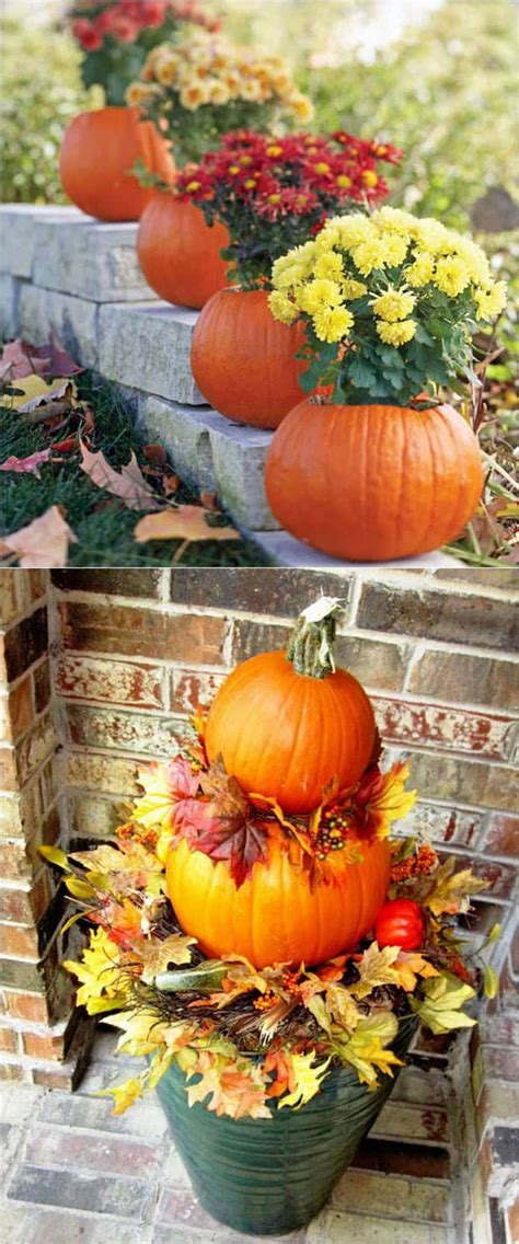 Fall Porch Displays by 25 Splendid Front Door Diy Fall Decorations A Of