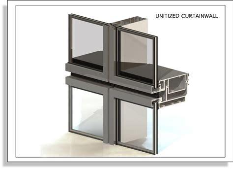 unitized curtain wall glazing ecs usa