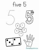 Coloring Five Number Dice Am Pages Printable Twistynoodle Getcolorings Toddler Login Favorites Getcoloringpages Colorings sketch template