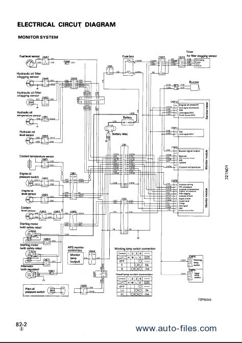 komatsu hydraulic excavator pc1000 1 service manual