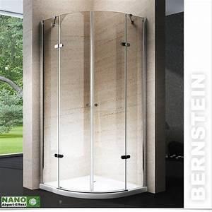 Cabine De Douche En Verre : cabine de douche quart de cercle en verre v ritable nano ~ Zukunftsfamilie.com Idées de Décoration