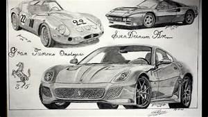 My Best Car Drawings - YouTube