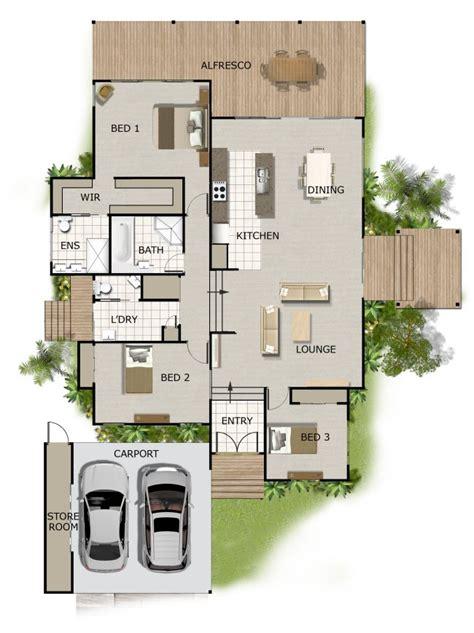 floor plans for split level homes split level house plan on timber floor australian houses