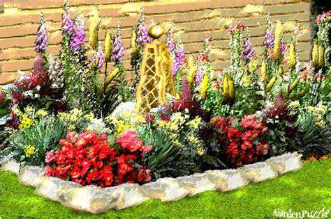 designing flower beds flower bed gardenpuzzle online garden planning tool
