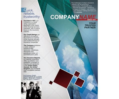 Free Half Fold Brochure Template Half Fold Brochure Template Template Business