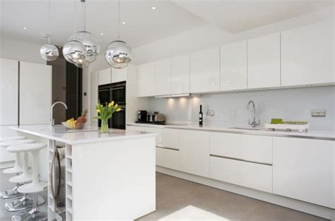 Colours That Go With Oak Kitchen Cabinets by White Gloss Kitchens