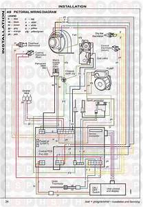 Ideal Isar He30  Ideal Isar Instaltion Wiring Diagram