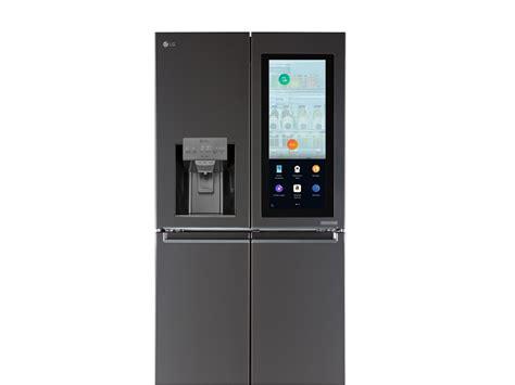 gadget de cuisine ces 2017 lg met du amazon dans réfrigérateur