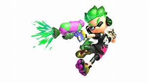 HD Splatoon 2 Inkling Boy #437