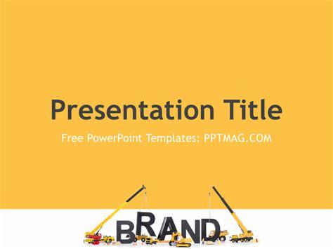 branding powerpoint template pptmag