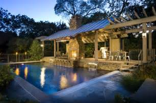 Fancy Kitchen Faucets Outdoor Living Ii Rustic Pool Dallas By Pool Environments Inc