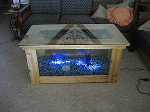 Spectacular DIY Fish Tank Coffee Table - Free Guide and