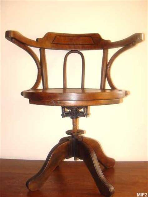 fauteuil de bureau en bois fauteuil en bois courbé vers 1930