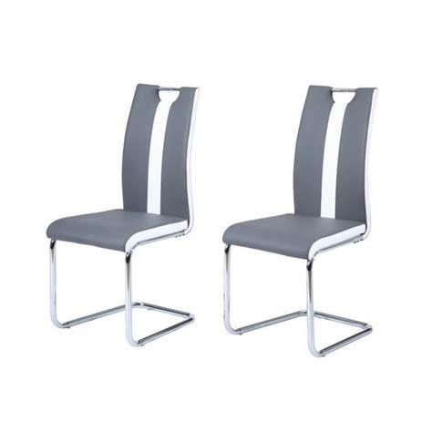 chaises cuisine blanches chaise de cuisine blanche et grise chaise idées de