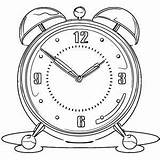 Wecoloringpage Coloring Printable Clip Wake Call sketch template