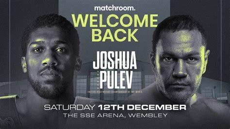 Arum Talks Joshua-Pulev, Fury-Wilder III And Joyce Vs ...