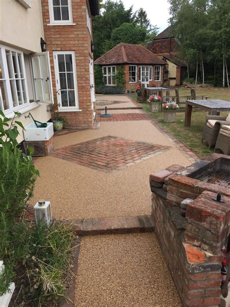 Patio Pictures by Resin Patios Beautiful Resin Bound Patio Flooring From