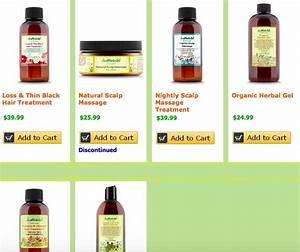 Justnaturalskincare Grow New Hair Solutions A