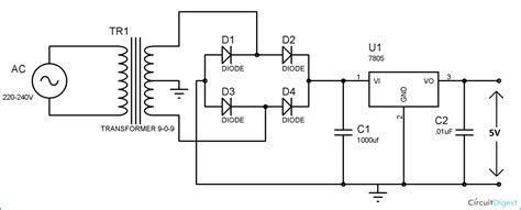 Cell Phone Charger Circuit Diagram Electronics