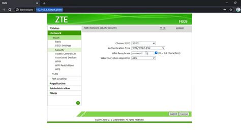 Find your zte model in the table below. How to Change ZTE F609 Router Wifi Password - YouTube
