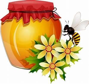 Pot De Fleur Transparent : pot de miel png fleurs abeille honeypot png bee ~ Teatrodelosmanantiales.com Idées de Décoration