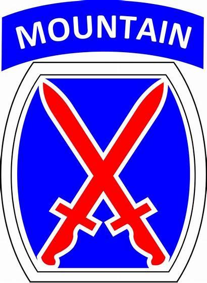 10th Division Mountain Wikipedia Insignia Svg Shoulder