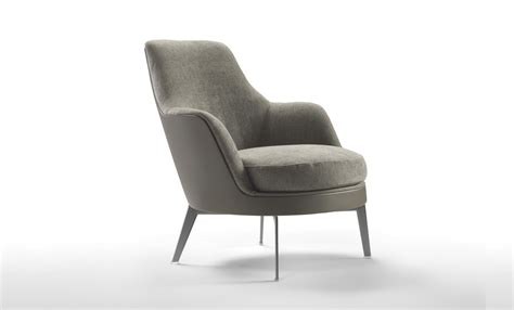 Lounge Armchair by Guscio Soft Lounge Chairs Fanuli Furniture