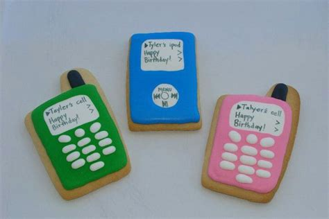 cookies on phone ipod and cell phone cookies cookies