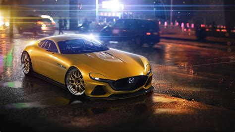 mazda rx vision concept wallpapers hd wallpapers id