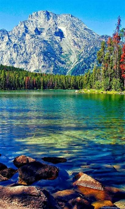 Desktop Wallpapers Lake Mountain Awesome Background