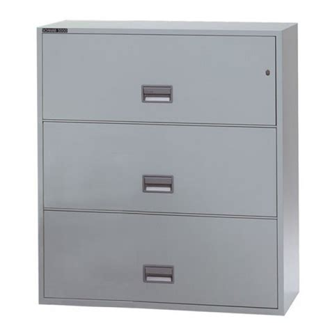 Sentry Fireproof File Cabinet - sentry 3l4300 3 drawer file cabinet with rating