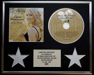 Carrie Underwoodcd Displaylimited Editioncoasome Hearts