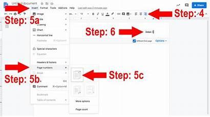 Header Mla Docs Google Running Heading Steps