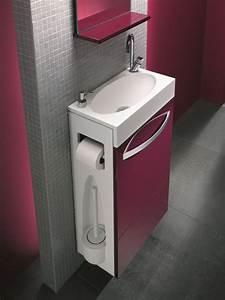 Petit Meuble Lavabo : lave mains ~ Teatrodelosmanantiales.com Idées de Décoration