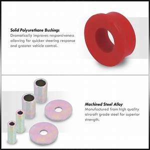 Front Lower Control Arm Rd Polyurethane Bushings For 1998